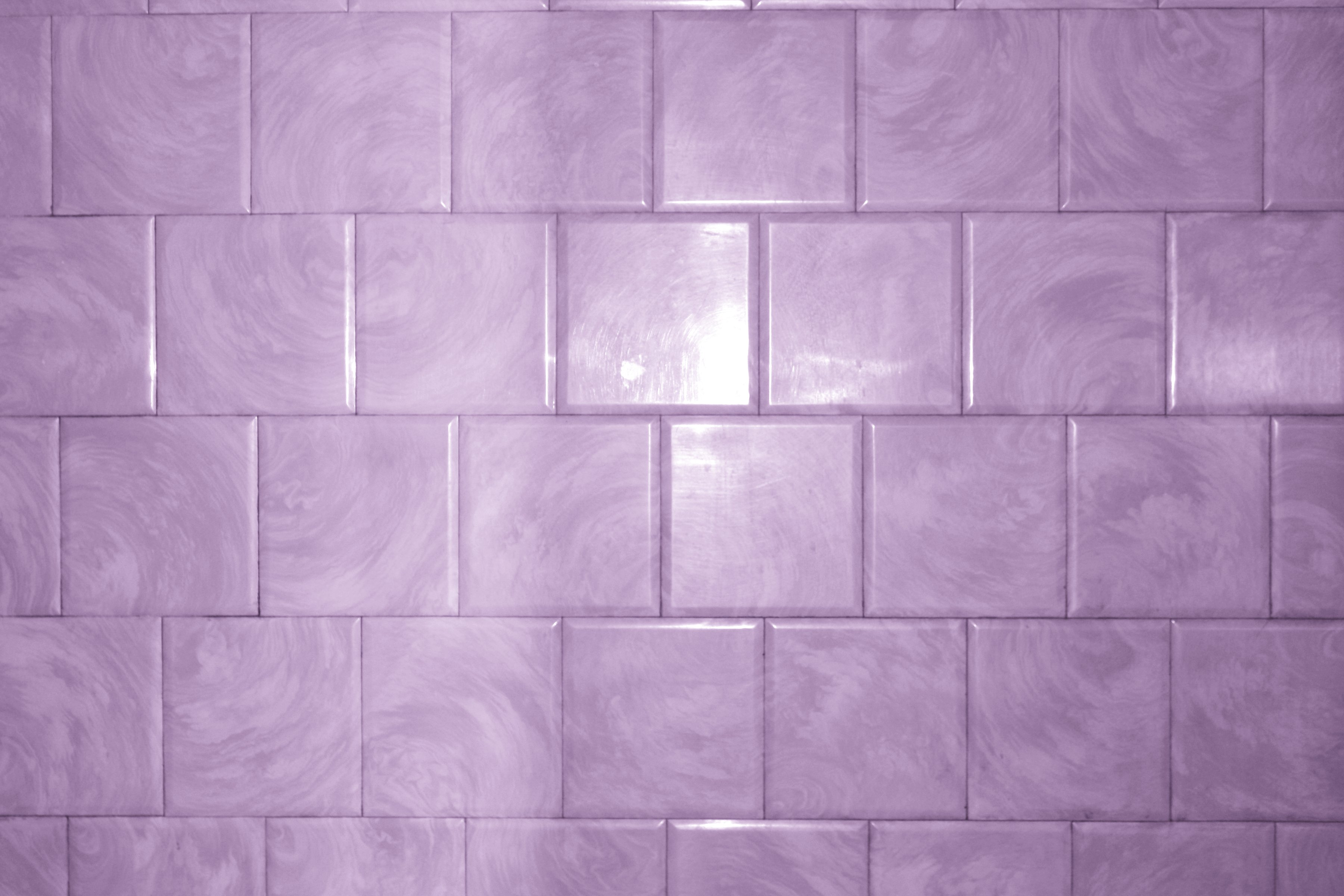 Purple Bathroom Tile With Swirl Pattern Texture