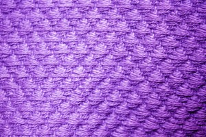 Purple Diamond Patterned Blanket Close Up Texture - Free High Resolution Photo