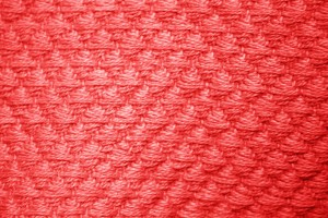 Red Diamond Patterned Blanket Close Up Texture - Free High Resolution Photo