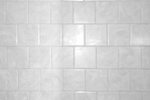 White Bathroom Tile with Swirl Pattern Texture - Free High Resolution Photo