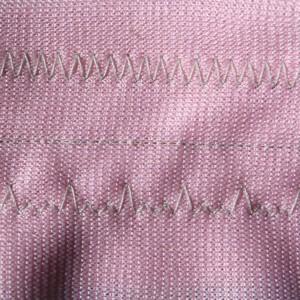 Zig Zag Stitches on Pink Fabric - Free High Resolution Photo