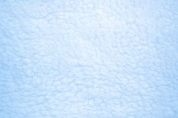 Baby Blue Fleece Faux Sherpa Wool Fabric Texture - Free High Resolution Photo