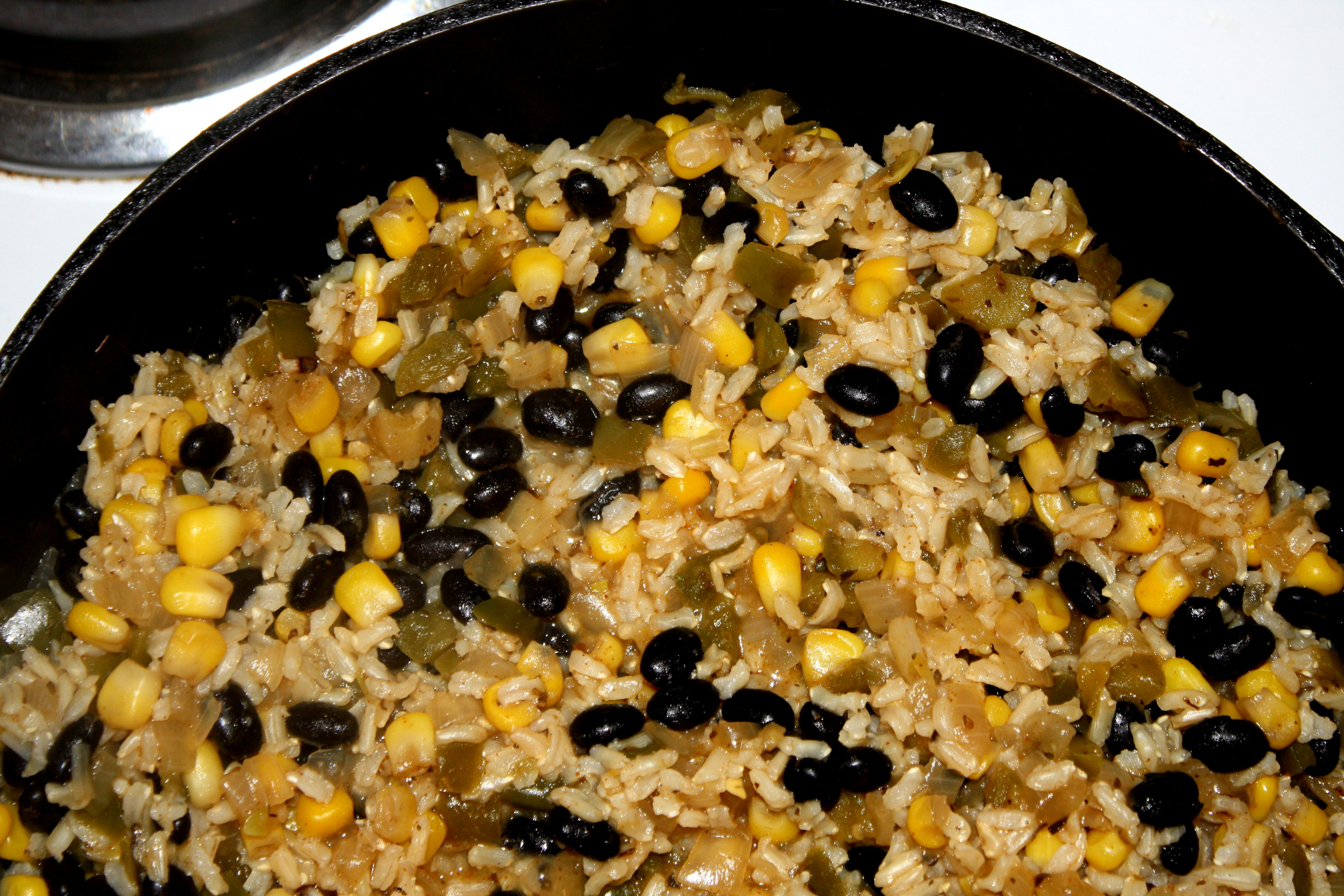 Black Beans and Rice on Stovetop Picture | Free Photograph | Photos ...