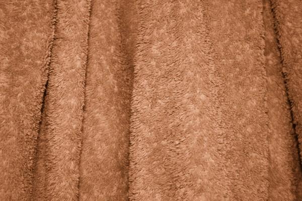 Brown Terry Cloth Bath Towel Texture - Free High Resolution Photo