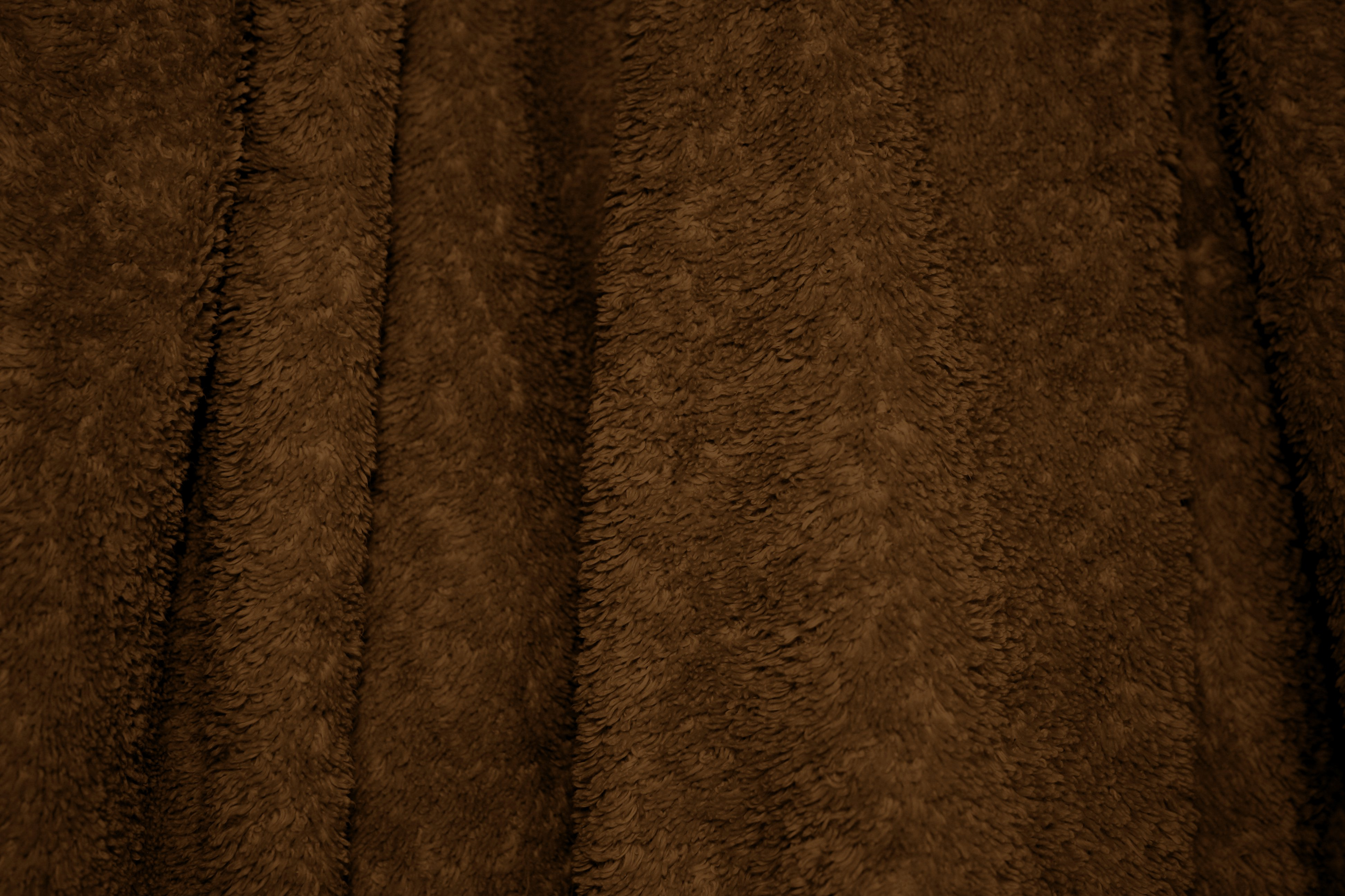 Chocolate Brown Terry Cloth Bath Towel Texture - Free High Resolution ...