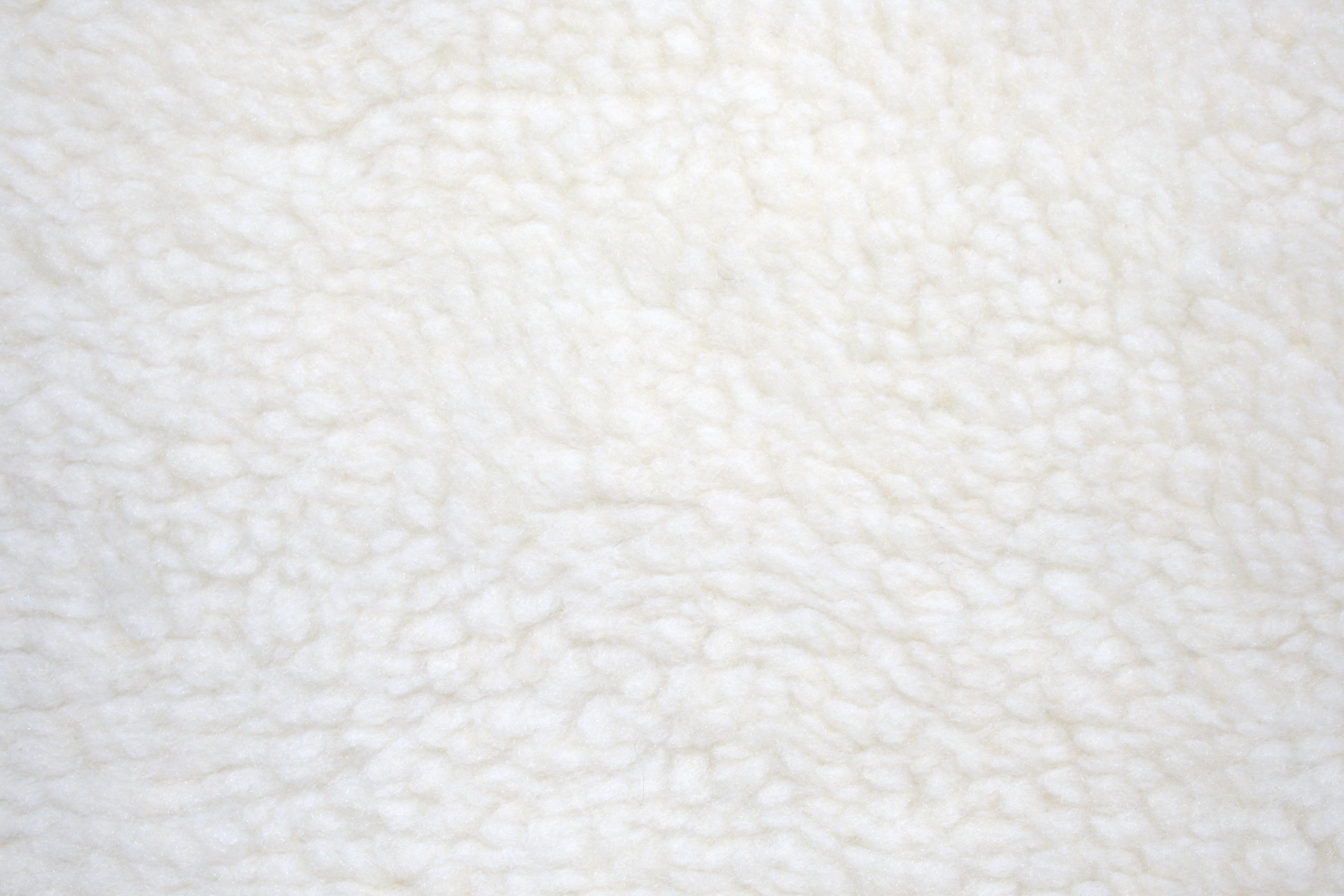 Fleece Faux Sherpa Wool Fabric Texture Natural Cream Picture Free
