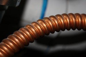 Flexible Copper Pipe Close Up - Free High Resolution Photo