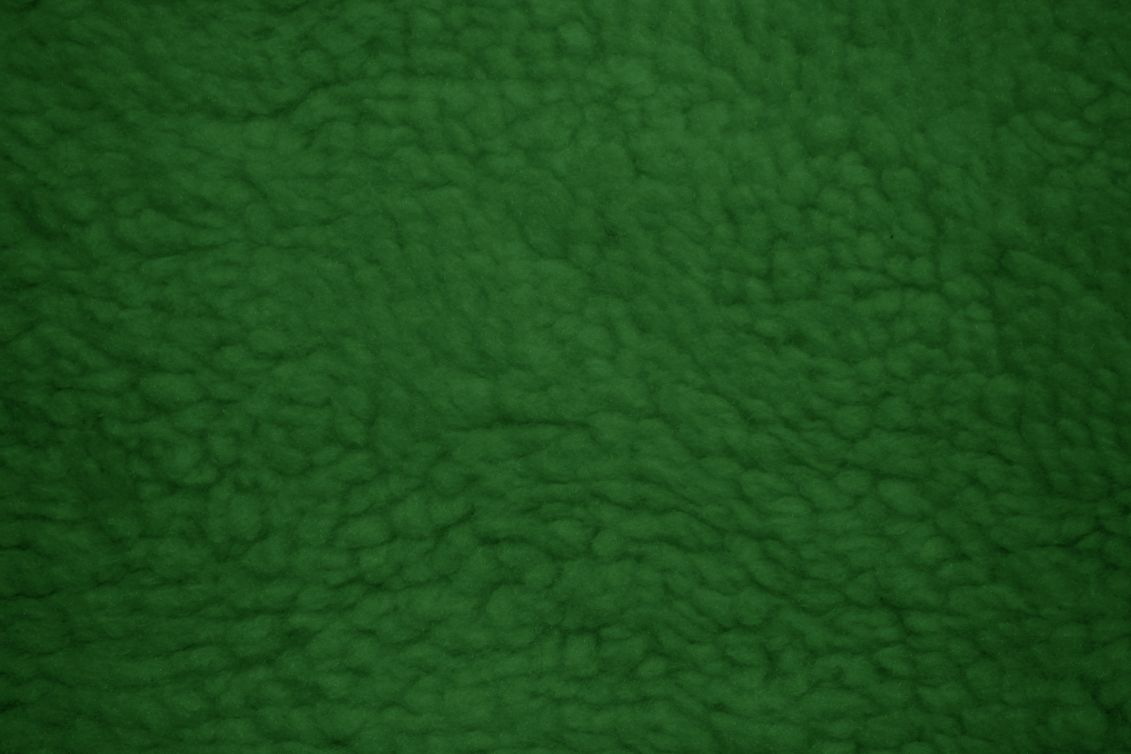 Forest green fleece faux sherpa wool fabric texture for Green fabric