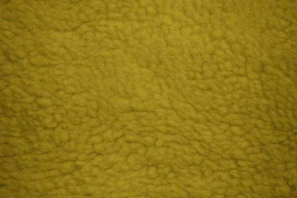 Gold Fleece Faux Sherpa Wool Fabric Texture - Free High Resolution Photo