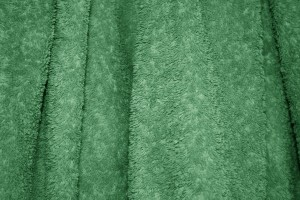 Green Terry Cloth Bath Towel Texture - Free High Resolution Photo