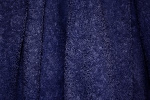 Navy Blue Terry Cloth Bath Towel Texture - Free High Resolution Photo