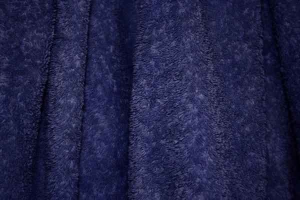 Navy Blue Terry Cloth Bath Towel Texture - Free High Resolution Photo