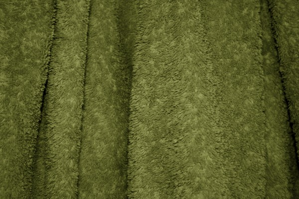 Olive Green Terry Cloth Bath Towel Texture - Free High Resolution Photo
