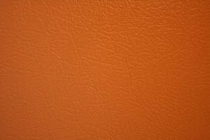Orange Faux Leather Texture - Free High Resolution Photo