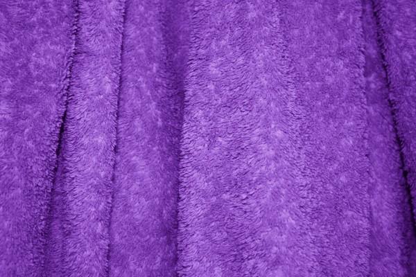 Purple Terry Cloth Bath Towel Texture - Free High Resolution Photo