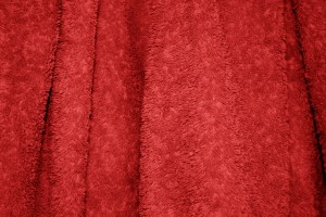 Red Terry Cloth Bath Towel Texture - Free High Resolution Photo