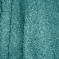Teal Terry Cloth Bath Towel Texture - Free High Resolution Photo