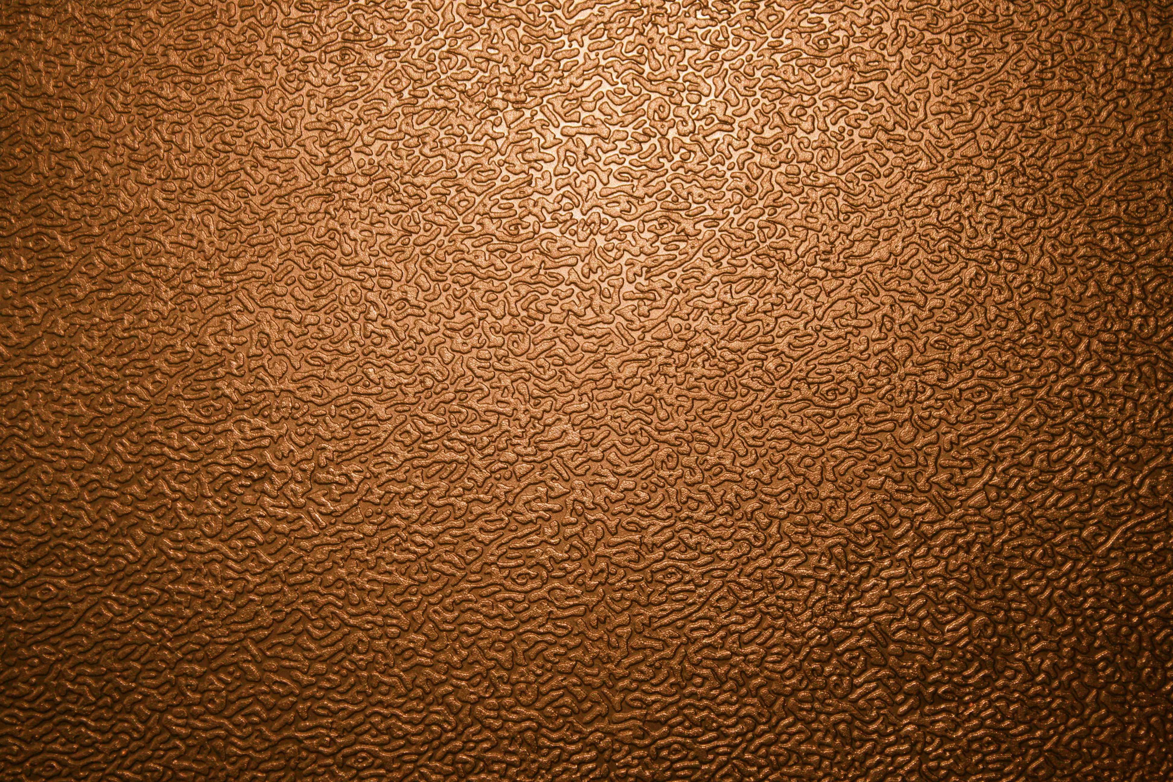 Textured Brown Plastic Close Up