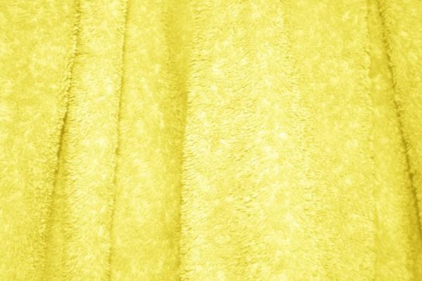 Yellow Terry Cloth Bath Towel Texture - Free High Resolution Photo