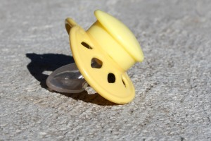 Baby Pacifier on the Sidewalk - Free high resolution photo