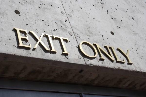 Exit Only Sign - Free High Resolution Photo