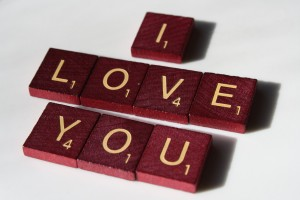 I Love You - Free High Resolution Photo of Scrabble tiles spelling out I Love You