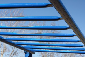 Monkey Bars on the Playground - Free High Resolution Photo