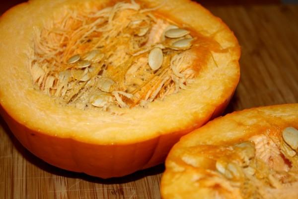 Pie Pumpkin Cut in Half - Free High Resolution Photo