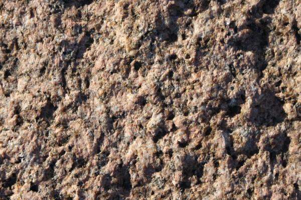 Red Granite Boulder : Red granite rock close up texture picture free