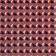 Red Rubber Texture with Round Dots - Free High Resolution Photo