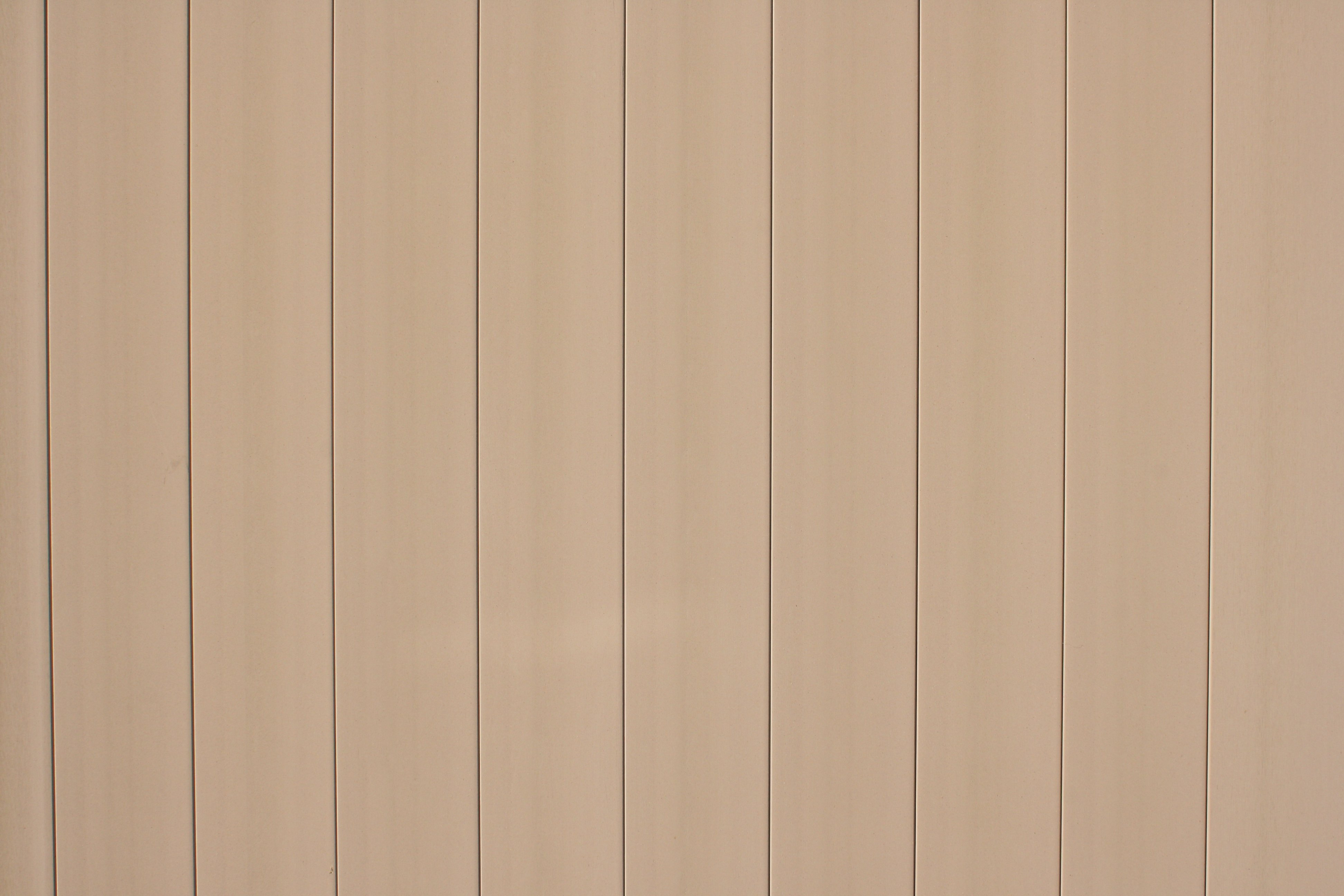 Tan Plastic Fence Boards Texture