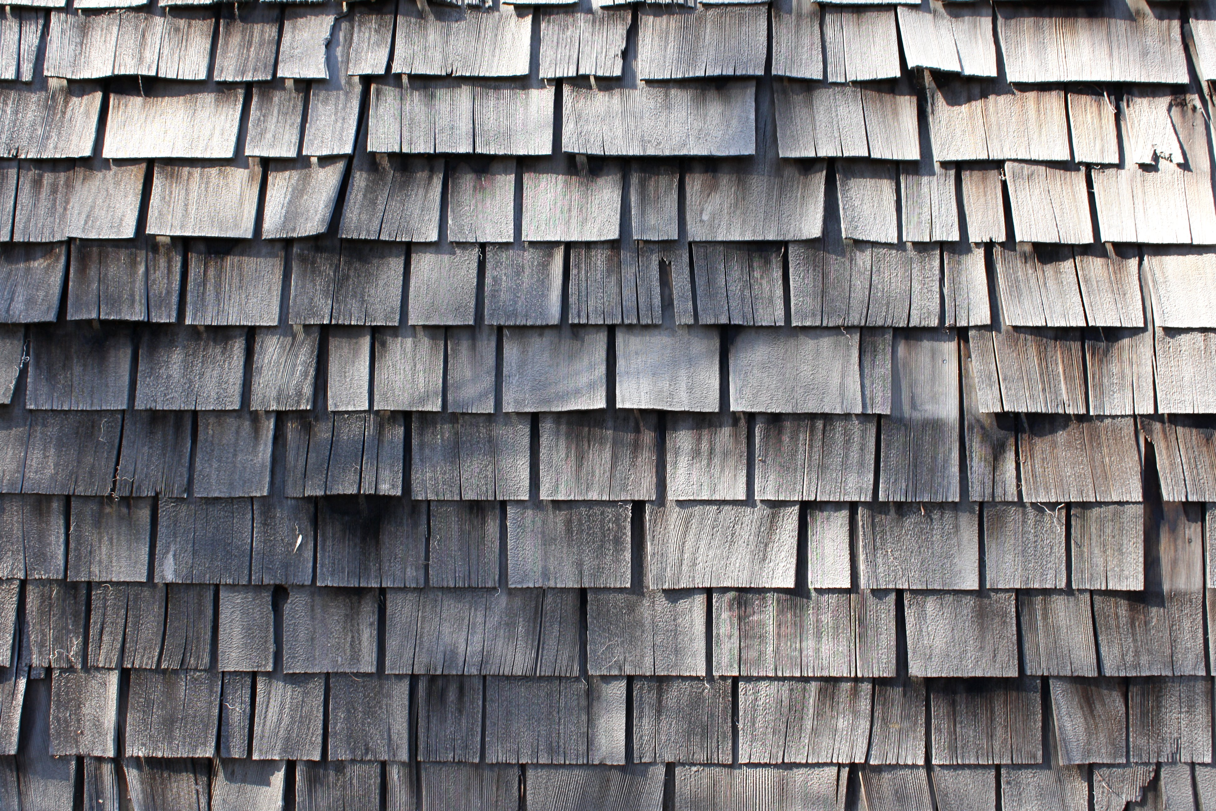 Weathered Shake Shingles Texture Picture Free Photograph