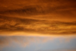 Bank of Orange Clouds at Sunset - Free High Resolution Photo