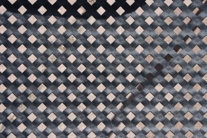 Black Metal Cross Grid Texture - Free High Resolution Photo