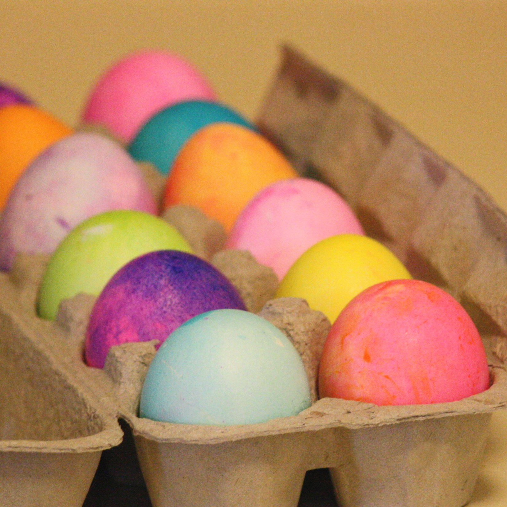 carton full of easter eggs picture free photograph photos