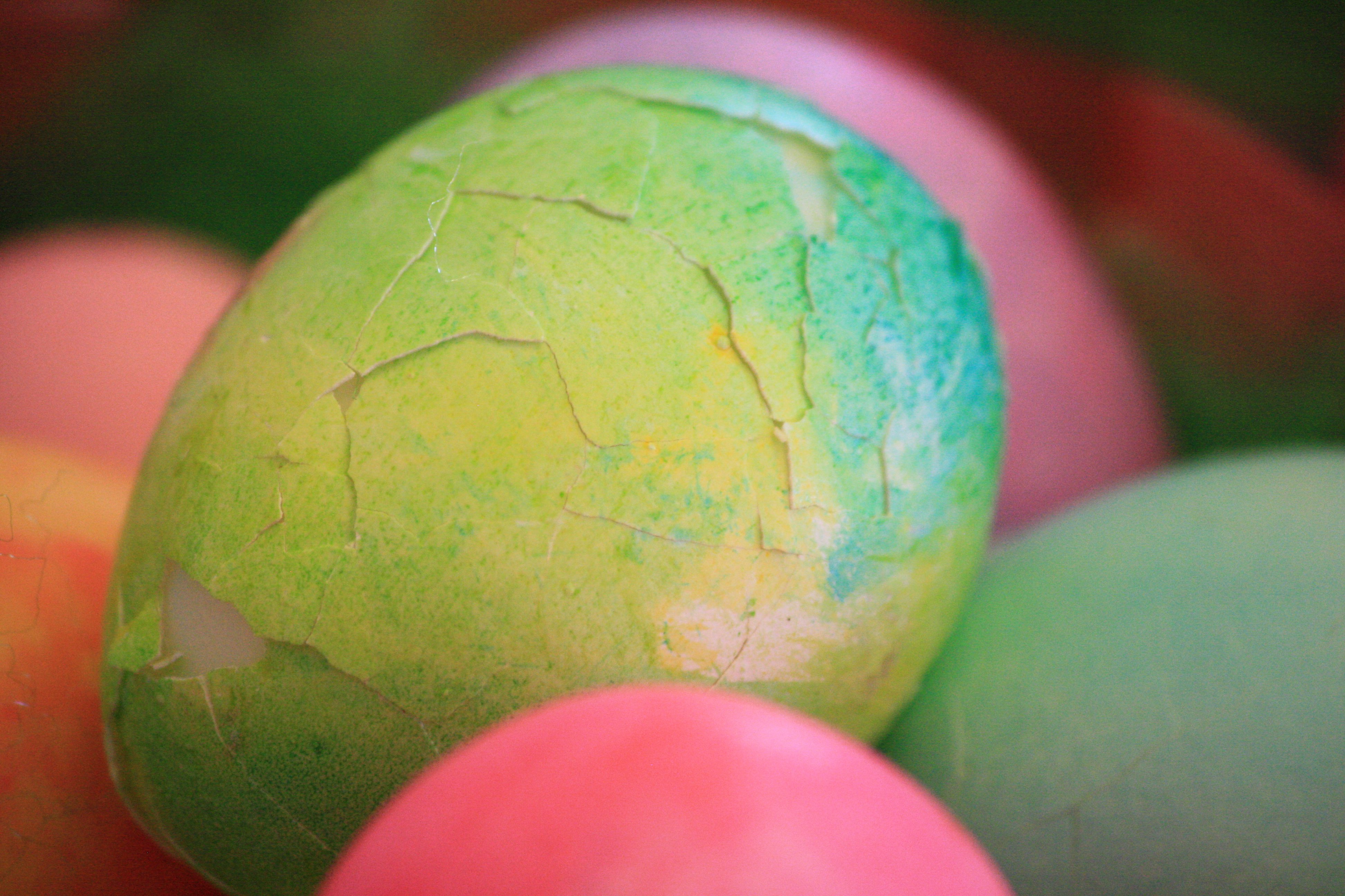Cracked Easter Egg Picture Free Photograph Photos