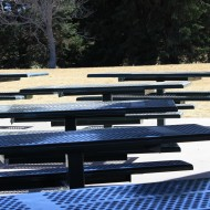 Empty Picnic Tables - Free high resolution photo