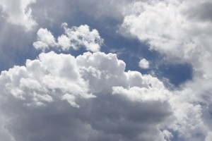 Fluffy White Clouds - Free High Resolution Photo