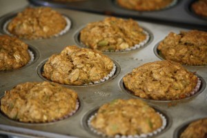 Homemade Whole Wheat Pumpkin Muffins - Free High Resolution Photo