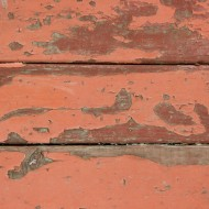 Peeling Red Paint on Old Wood Boards Texture - Free High Resolution Photo