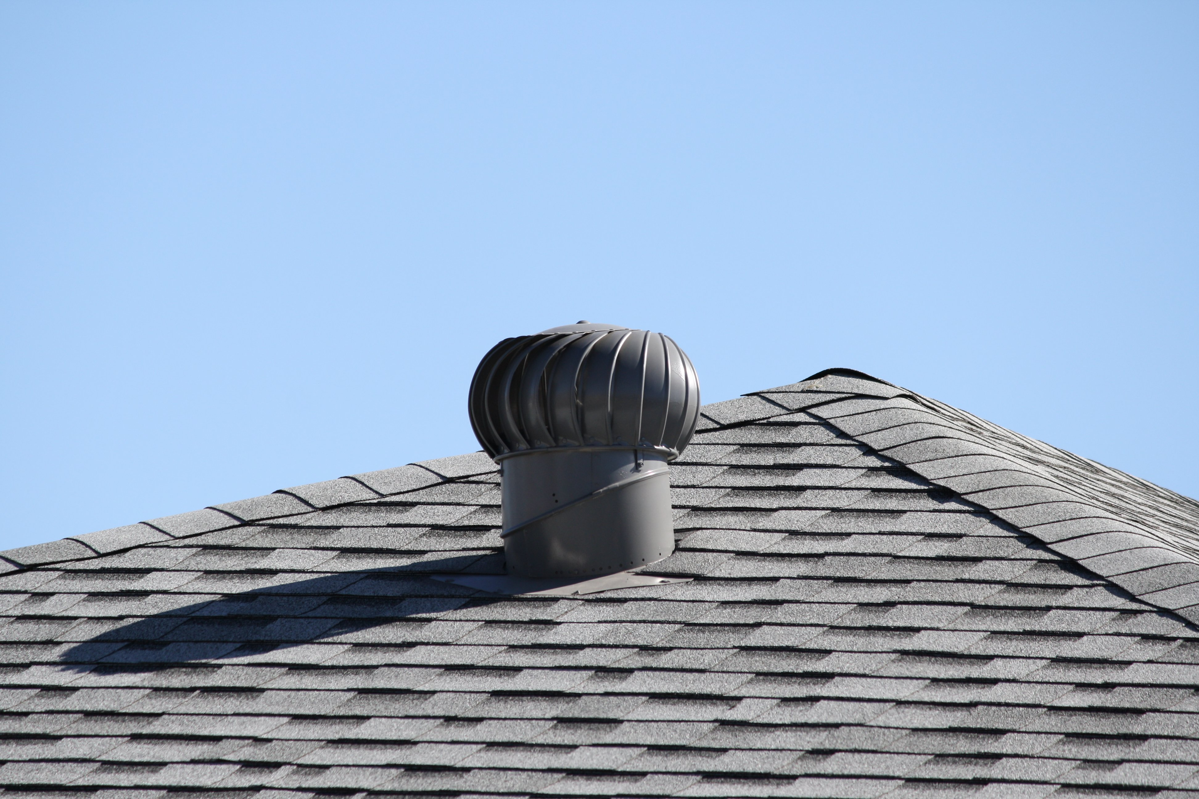 Spinning Turbine Attic Vent Picture Free Photograph