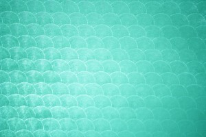Aqua Green Circle Patterned Plastic Texture - Free High Resolution Photo