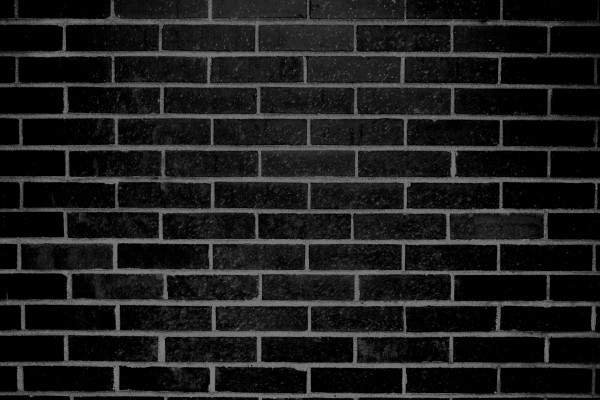 Black Brick Wall Texture - Free High Resolution Photo