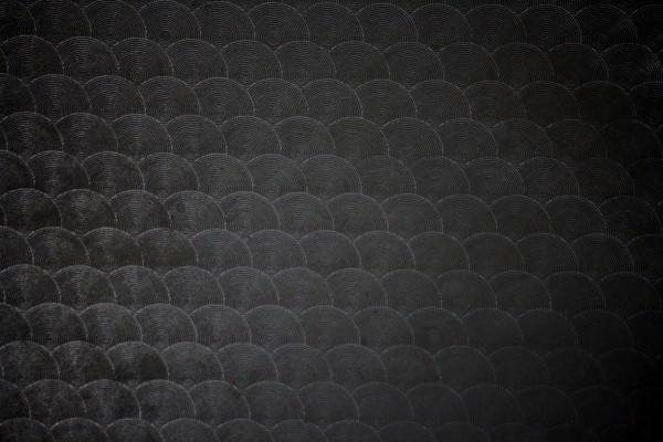 Black Circle Patterned Plastic Texture - Free High Resolution Photo