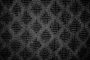 Black Dish Towel with Diamond Pattern Close Up Texture - Free High Resolution Photo