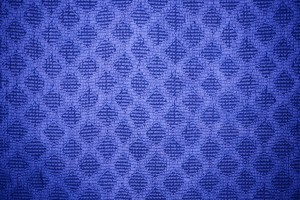 Blue Dish Towel with Diamond Pattern Texture - Free High Resolution Photo