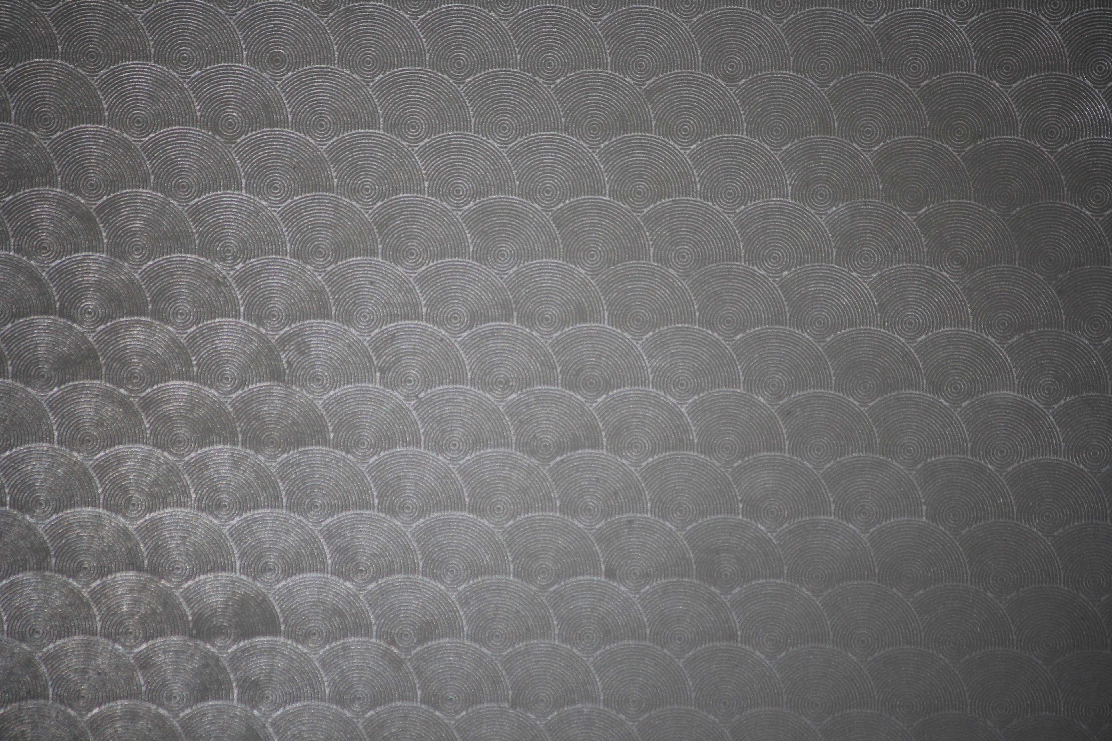 Charcoal Gray Circle Patterned Plastic Texture Picture