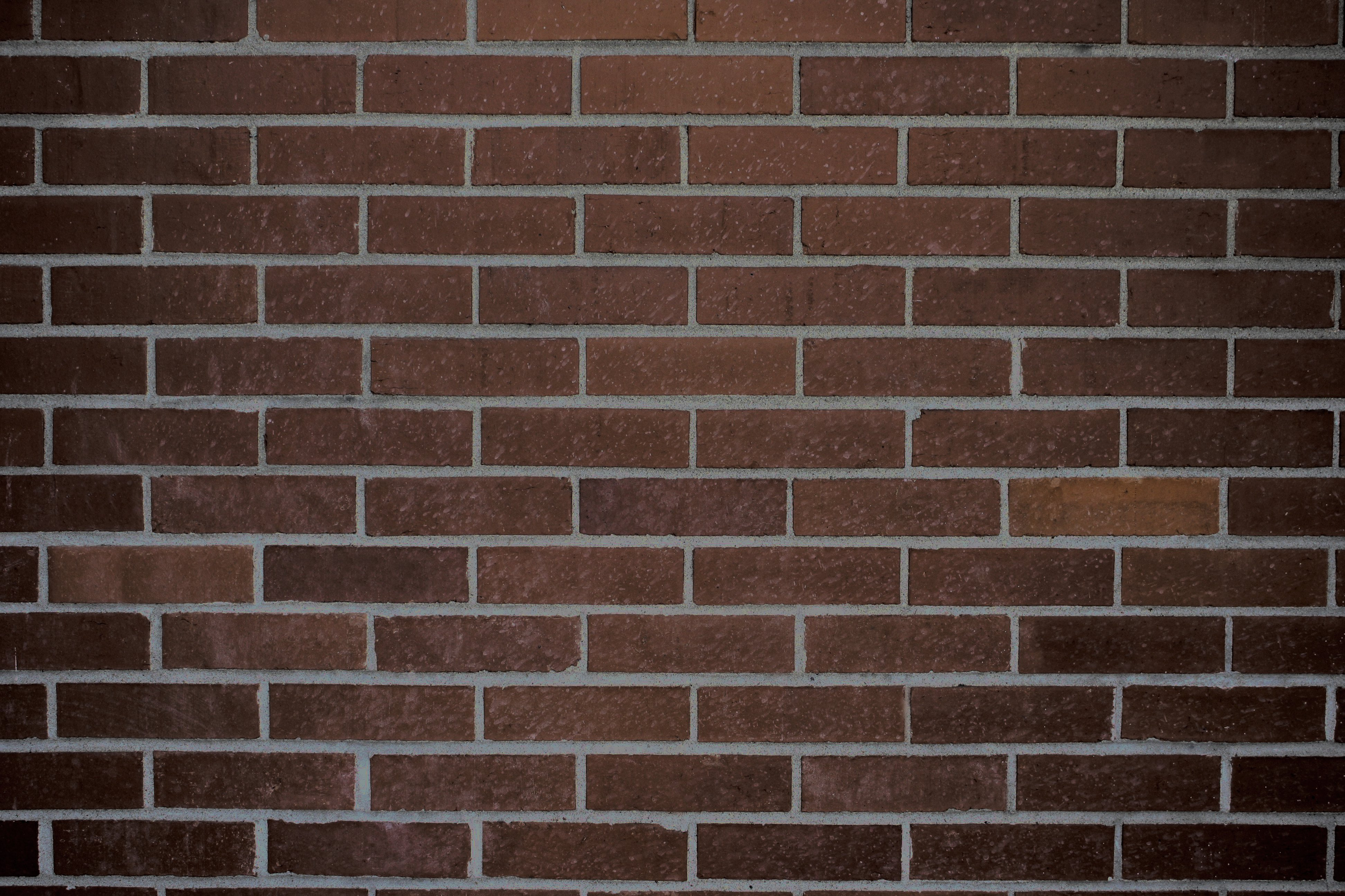 Dark brown brick wall texture picture free photograph for Brown wallpaper for walls