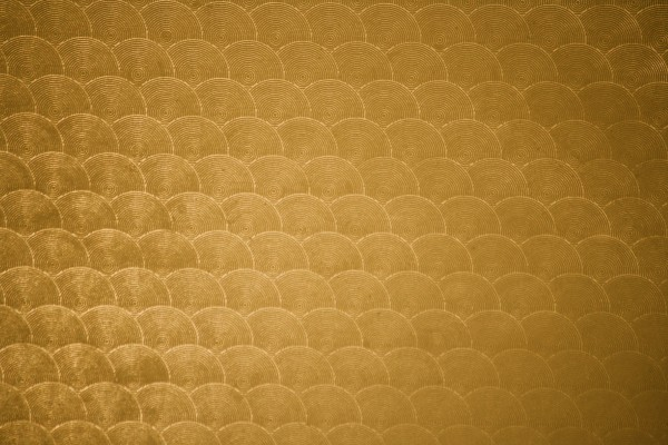 Golden Circle Patterned Plastic Texture - Free High Resolution Photo