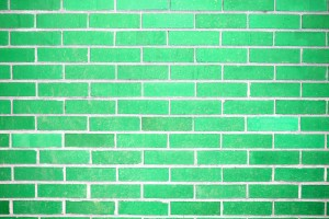 Green Brick Wall Texture - Free High Resolution Photo